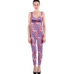 Pattern Abstract Squiggles Gliftex OnePiece Catsuit
