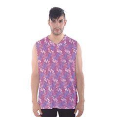 Pattern Abstract Squiggles Gliftex Men s Basketball Tank Top