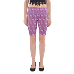 Pattern Abstract Squiggles Gliftex Yoga Cropped Leggings