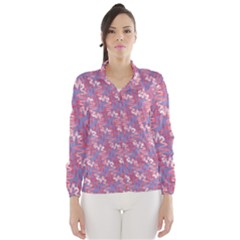 Pattern Abstract Squiggles Gliftex Wind Breaker (Women)
