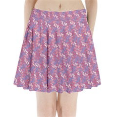 Pattern Abstract Squiggles Gliftex Pleated Mini Skirt