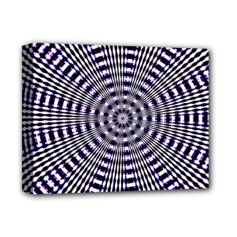 Pattern Stripes Background Deluxe Canvas 14  X 11