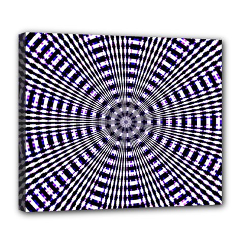 Pattern Stripes Background Deluxe Canvas 24  x 20