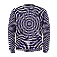 Pattern Stripes Background Men s Sweatshirt