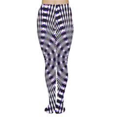 Pattern Stripes Background Women s Tights