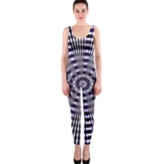 Pattern Stripes Background Onepiece Catsuit