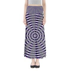 Pattern Stripes Background Maxi Skirts
