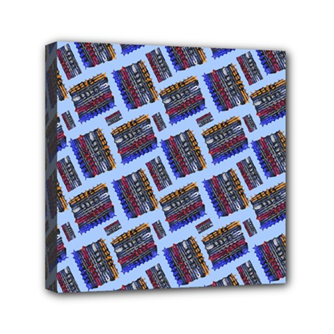 Abstract Pattern Seamless Artwork Mini Canvas 6  x 6