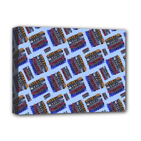 Abstract Pattern Seamless Artwork Deluxe Canvas 16  X 12