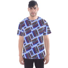 Abstract Pattern Seamless Artwork Men s Sport Mesh Tee