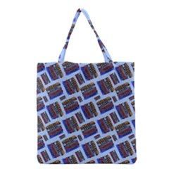 Abstract Pattern Seamless Artwork Grocery Tote Bag