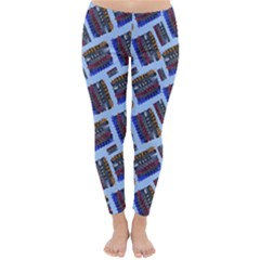 Abstract Pattern Seamless Artwork Classic Winter Leggings