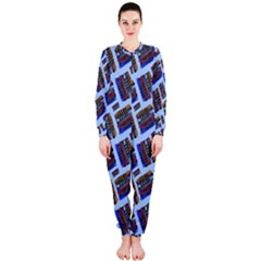 Abstract Pattern Seamless Artwork OnePiece Jumpsuit (Ladies)