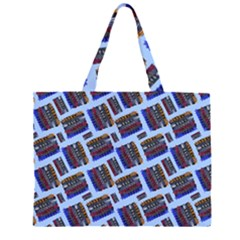 Abstract Pattern Seamless Artwork Large Tote Bag