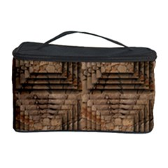 Collage Stone Wall Texture Cosmetic Storage Case