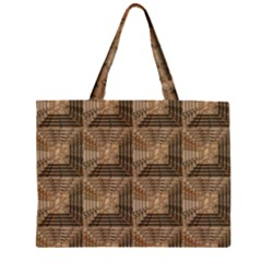 Collage Stone Wall Texture Large Tote Bag