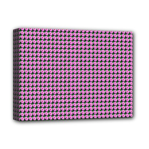 Pattern Grid Background Deluxe Canvas 16  x 12