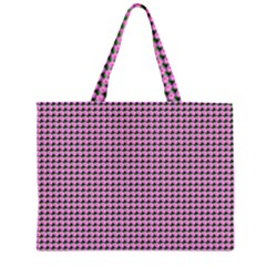 Pattern Grid Background Large Tote Bag