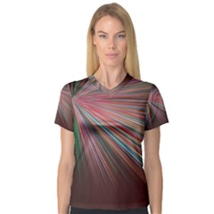 Background Vector Backgrounds Vector Women s V-Neck Sport Mesh Tee