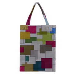 Decor Painting Design Texture Classic Tote Bag