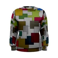 Decor Painting Design Texture Women s Sweatshirt