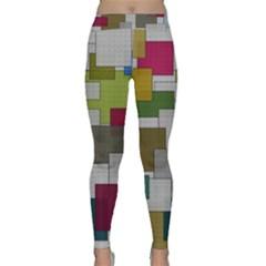 Decor Painting Design Texture Classic Yoga Leggings
