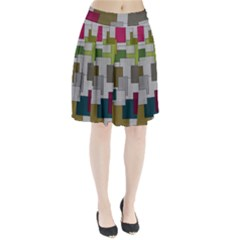 Decor Painting Design Texture Pleated Skirt