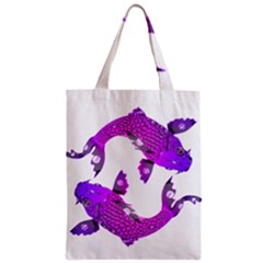 Koi Carp Fish Water Japanese Pond Zipper Classic Tote Bag