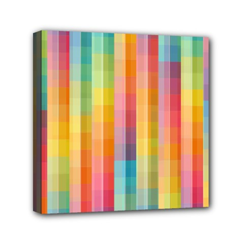 Background Colorful Abstract Mini Canvas 6  X 6
