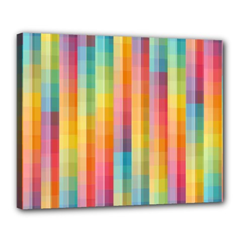 Background Colorful Abstract Canvas 20  x 16