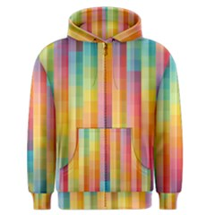 Background Colorful Abstract Men s Zipper Hoodie