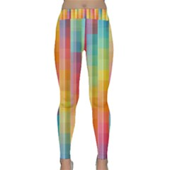Background Colorful Abstract Classic Yoga Leggings