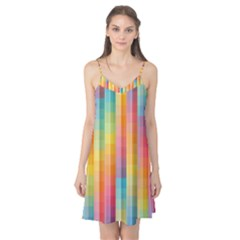 Background Colorful Abstract Camis Nightgown