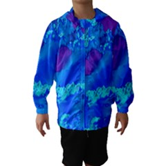 Sky pattern Hooded Wind Breaker (Kids)