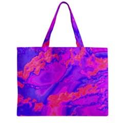 Sky pattern Zipper Mini Tote Bag