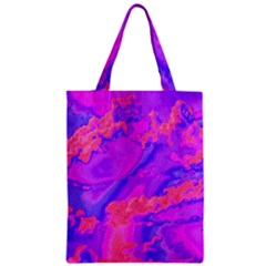 Sky pattern Zipper Classic Tote Bag