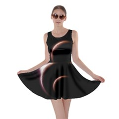 Planet Space Abstract Skater Dress