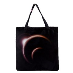 Planet Space Abstract Grocery Tote Bag