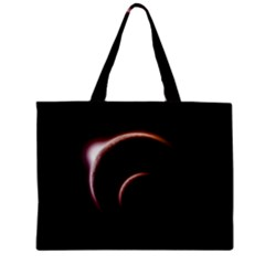 Planet Space Abstract Zipper Mini Tote Bag
