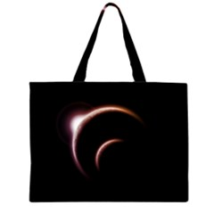 Planet Space Abstract Large Tote Bag