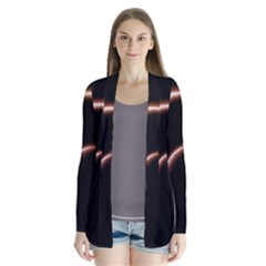 Planet Space Abstract Cardigans