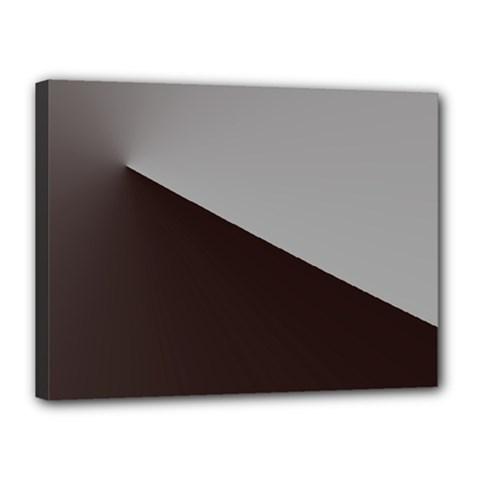 Course Gradient Color Pattern Canvas 16  X 12