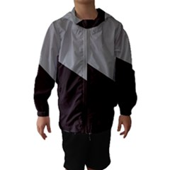 Course Gradient Color Pattern Hooded Wind Breaker (kids)