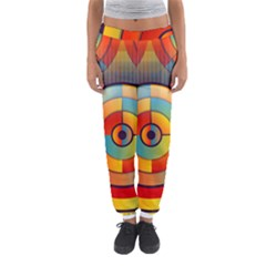 Abstract Pattern Background Women s Jogger Sweatpants