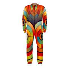 Abstract Pattern Background Onepiece Jumpsuit (kids)