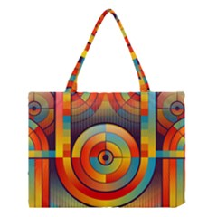 Abstract Pattern Background Medium Tote Bag