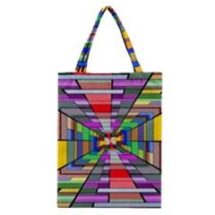 Art Vanishing Point Vortex 3d Classic Tote Bag