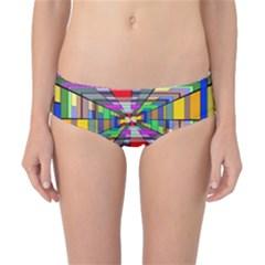Art Vanishing Point Vortex 3d Classic Bikini Bottoms