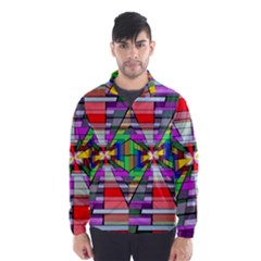 Art Vanishing Point Vortex 3d Wind Breaker (men)