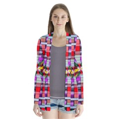 Art Vanishing Point Vortex 3d Cardigans